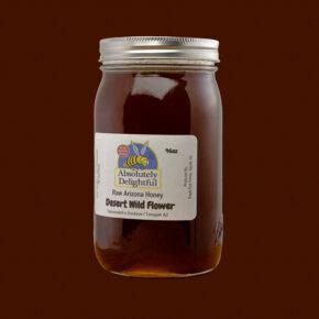 One 46oz Desert Wild Flower Jar
