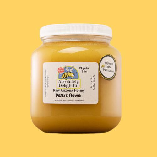 One Half Gallon of Desert Flower Honey
