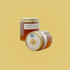 Twisted Ginger Infused Honey 6oz Jars