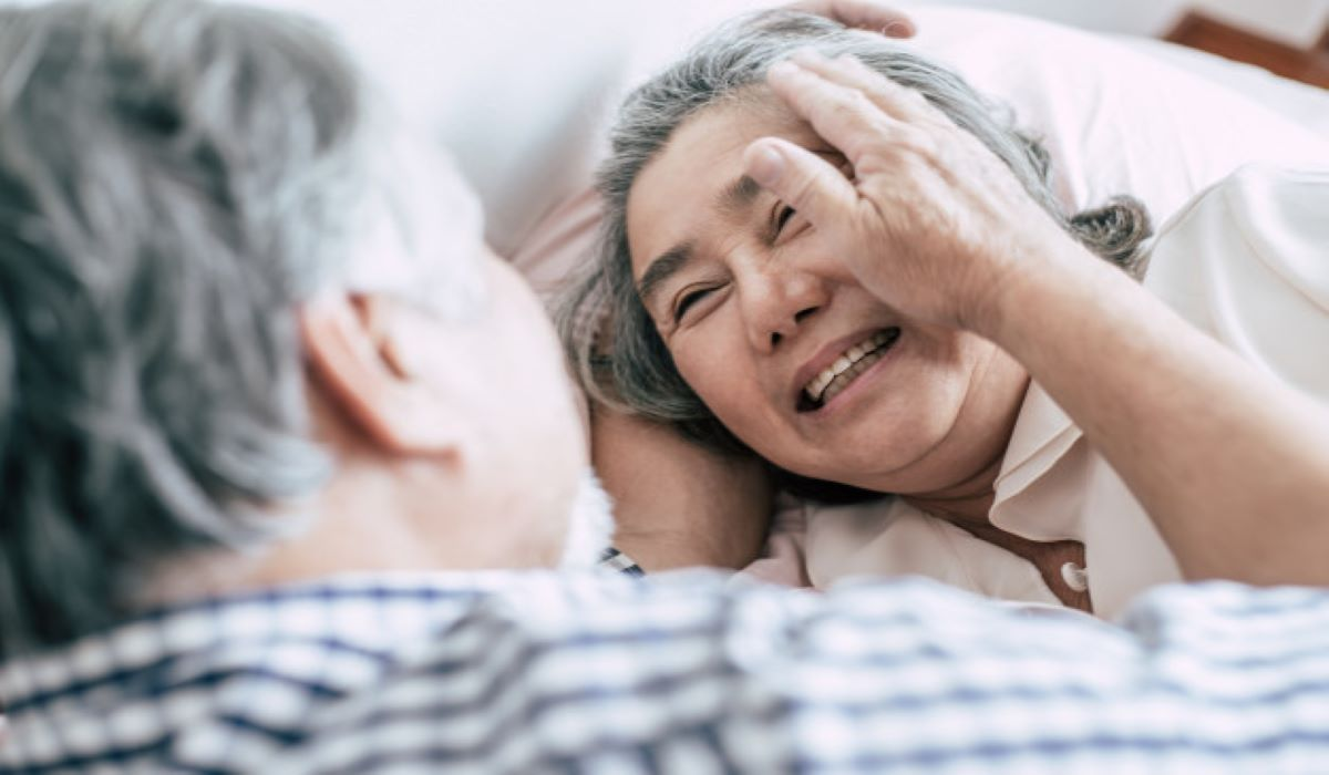remedies for sleeping problems due to old age