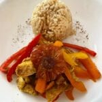 Thai Inspired Chili-Lime Mango Chicken