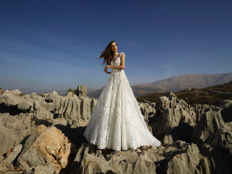 Gavrielle bridal gown by Tony Ward