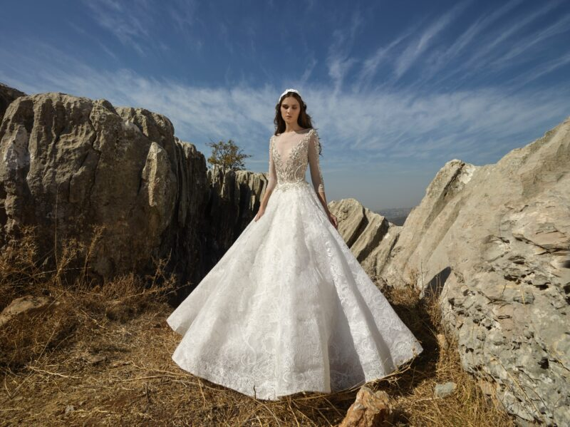 River of Stars bridal gown by Tony Ward