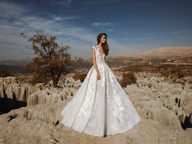 Arrow Dream bridal gown by Tony Ward