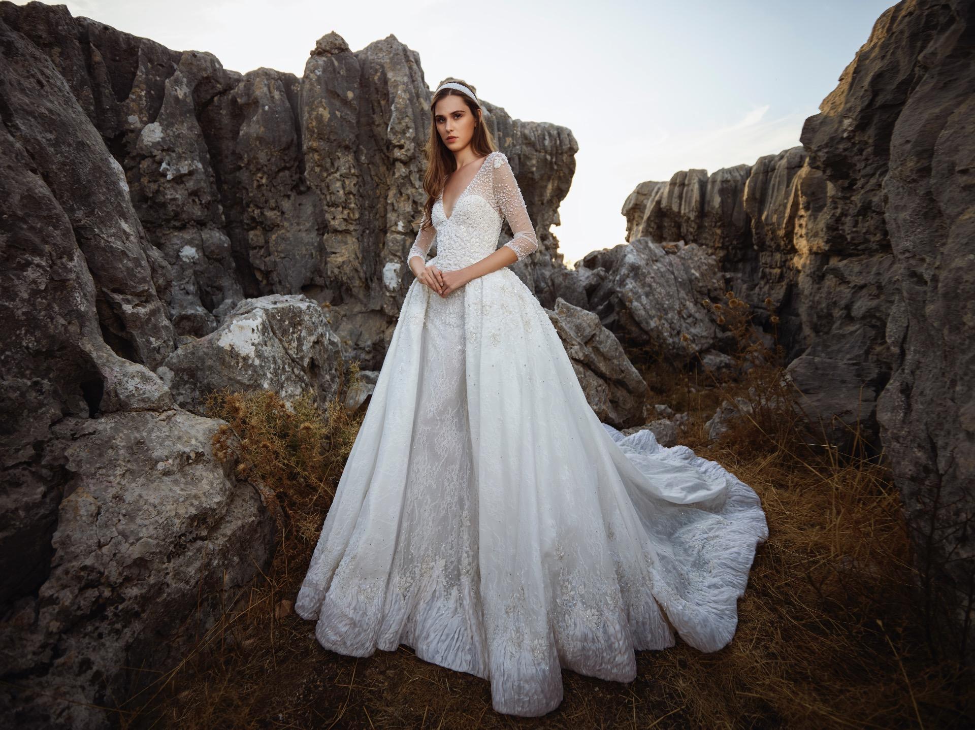 Moon bridal gown by Tony Ward