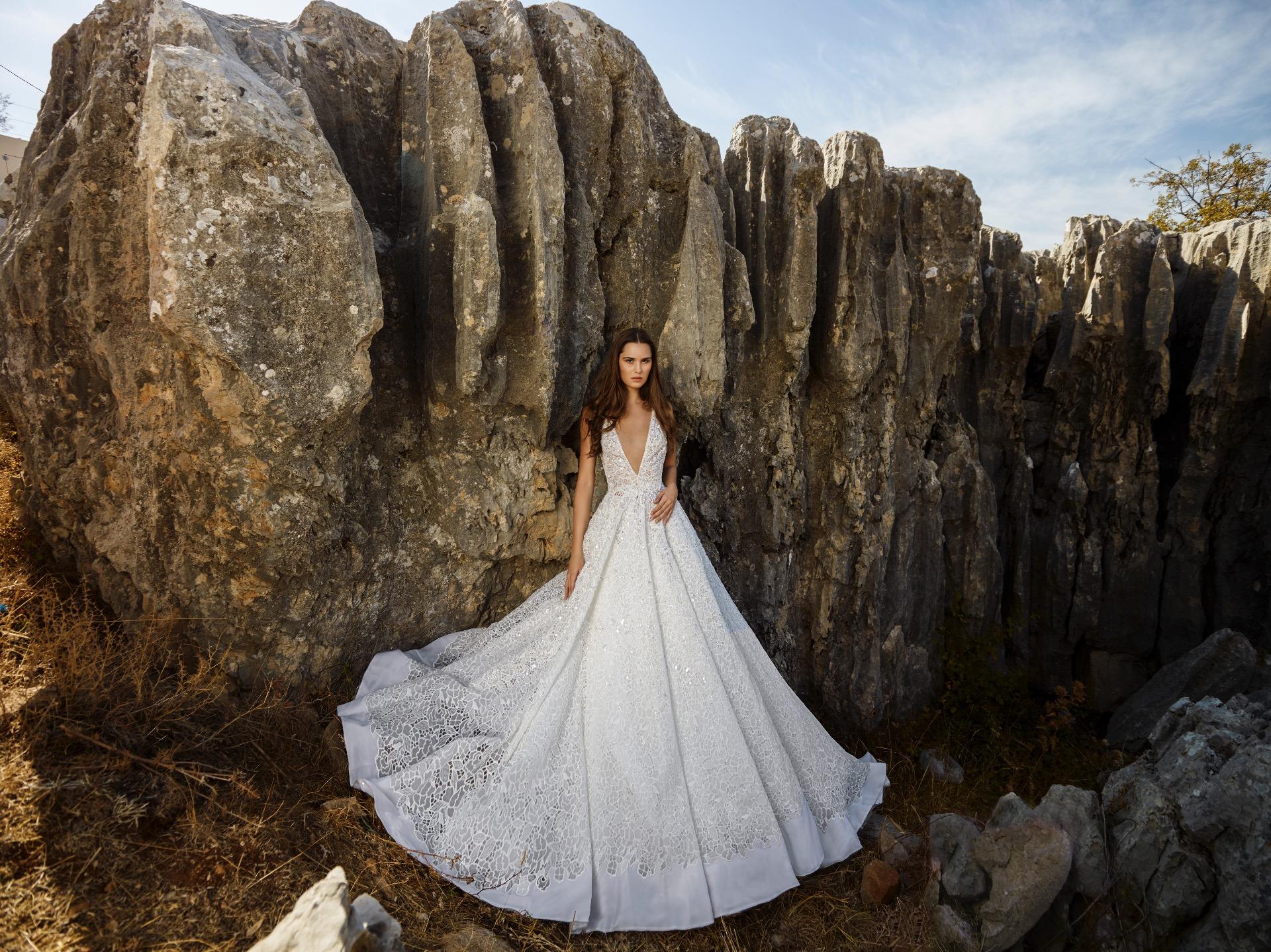 Snow-Petal bridal gown by Tony Ward