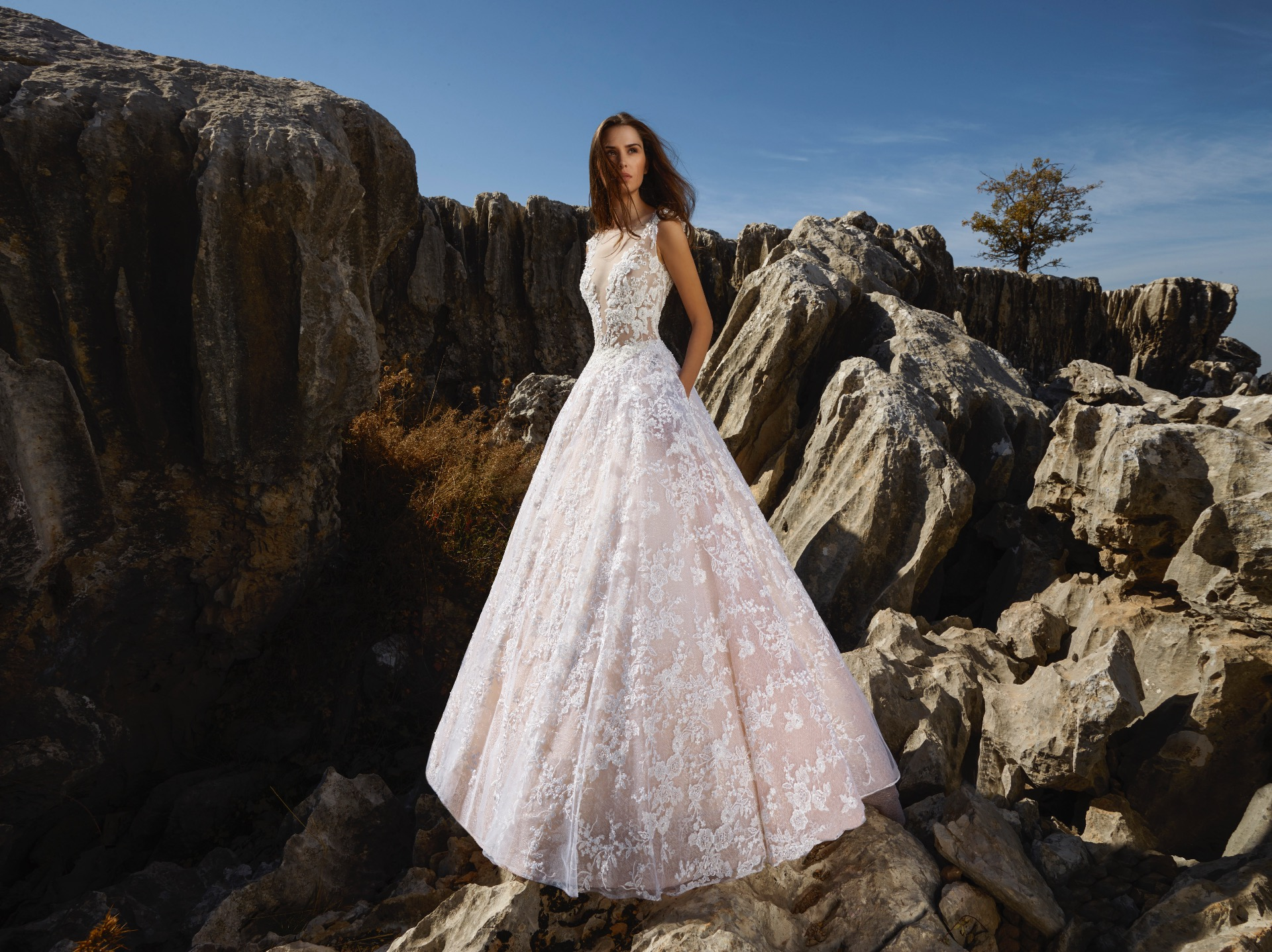 Sunlight bridal gown by Tony Ward