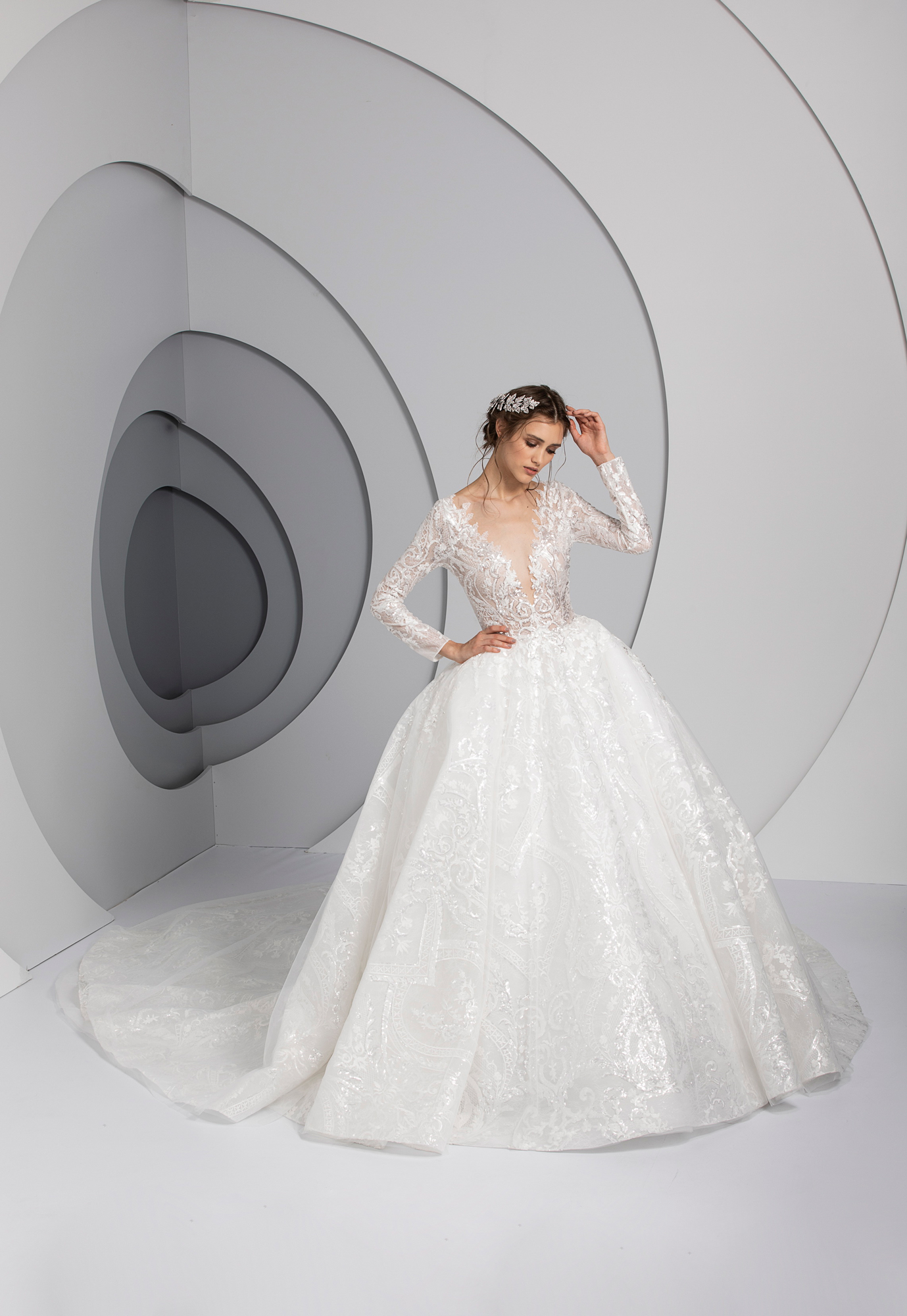 Swirl by Tony Ward from the La Mariee Collection