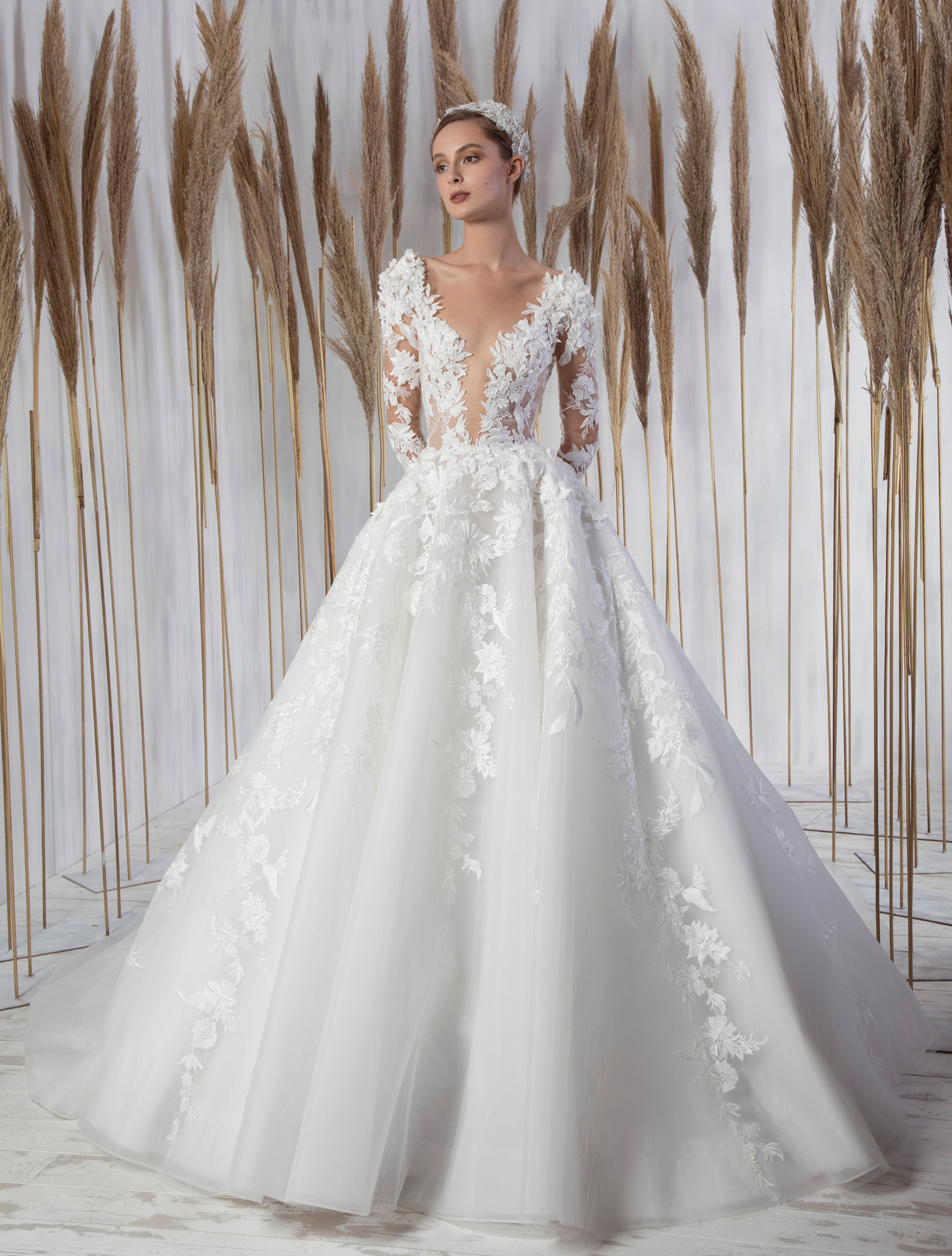 Bridal Gown Winslet by Tony Ward from the La Mariee Collection