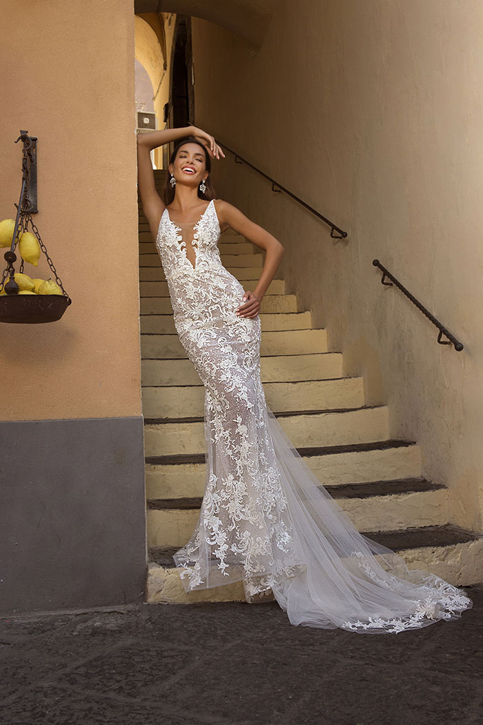 P107 Bridal Gown by Berta Bridal Gown