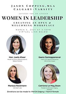 Women in Leadership Poster
