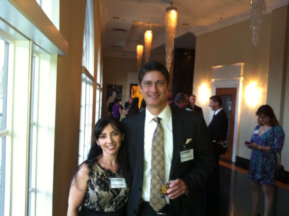 Ezequiel and Milene at Banquet