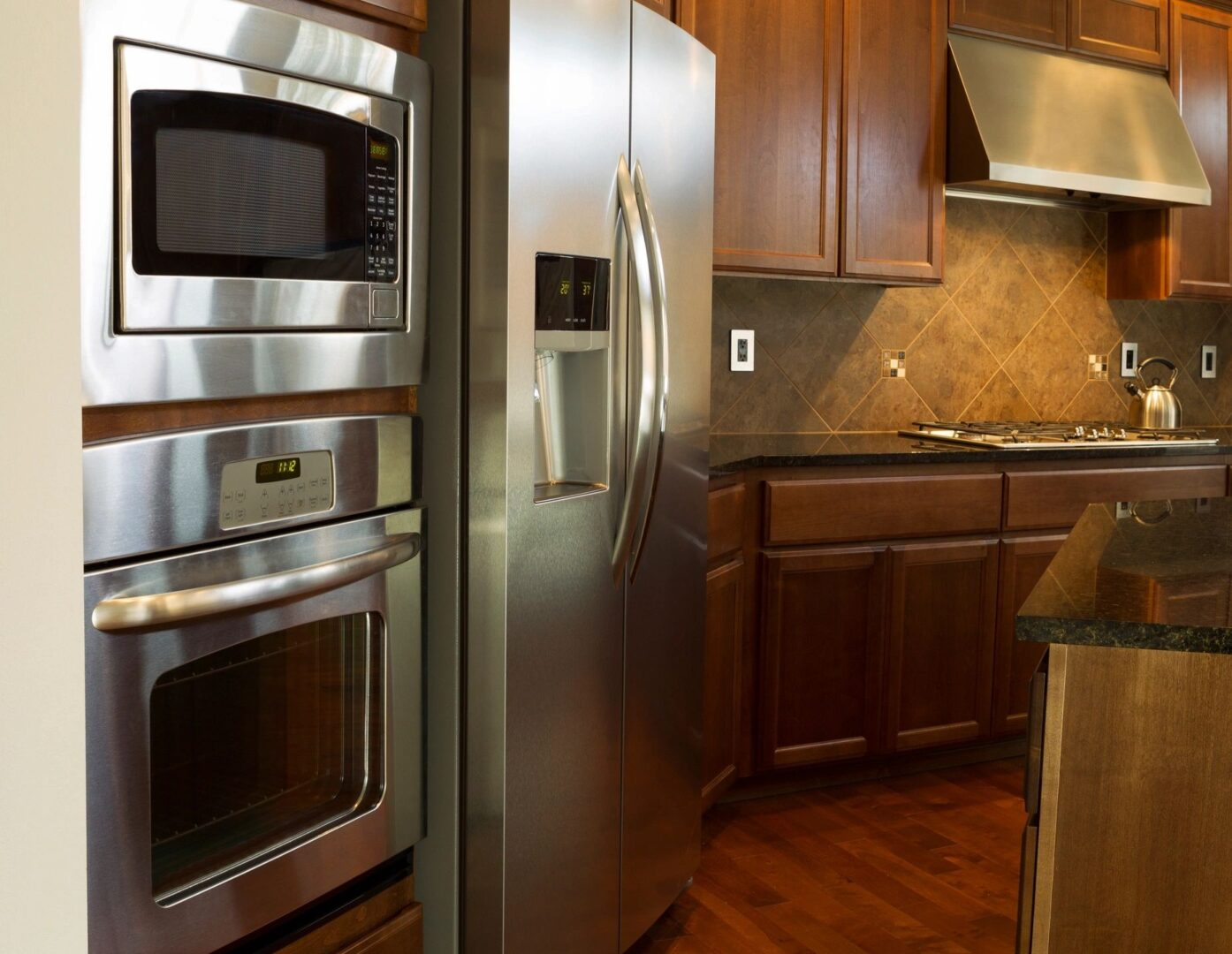 Stainless Stell Refridgerator and Stove