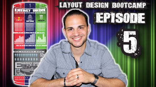 Layout Design Bootcamp – Episode 5 – Creative Infographic