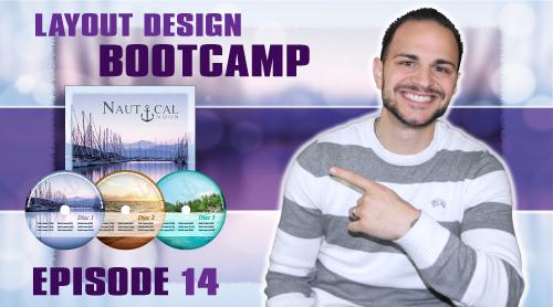 Layout Design Bootcamp – Episode 14 – CD Cover / Label Design