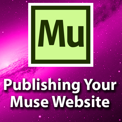 Publishing Your Professional Website Design In Adobe Muse