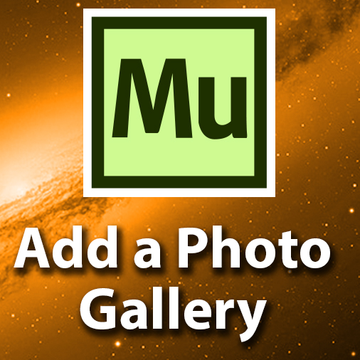 How To Add A Photo Gallery In Adobe Muse