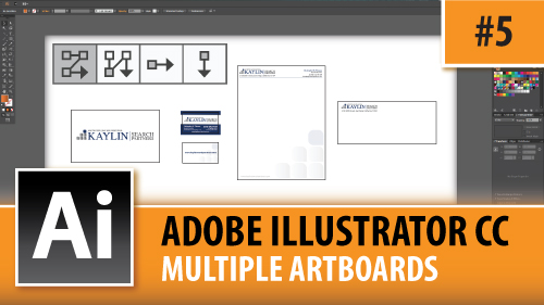 Adobe Illustrator Creative Cloud – Setting Up Multiple Artboards – Episode #5
