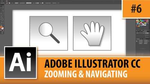 Adobe Illustrator Creative Cloud – Zooming & Navigating – Episode #6