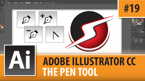 Adobe Illustrator Creative Cloud – The Pen Tool – Episode #19