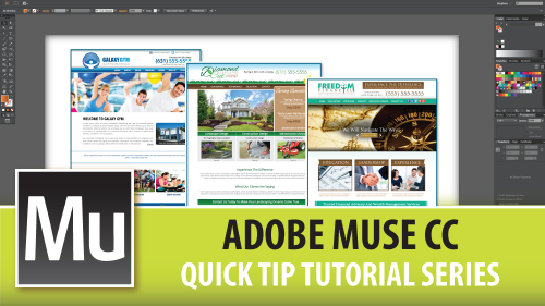 Adobe Muse CC Quick Tip Tutorial Series – Introduction Video