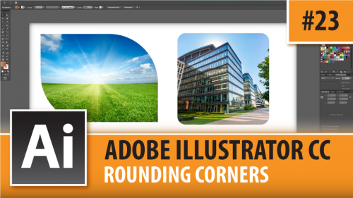 Adobe Illustrator Creative Cloud – Rounding Corners – Episode #23