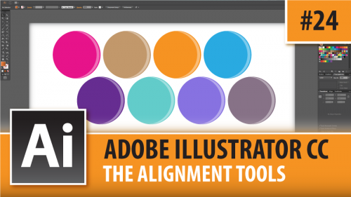 Adobe Illustrator Creative Cloud – The Alignment Tools – Episode #24