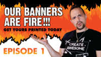 Professional Banner Design Tutorial – Part 1 of 3