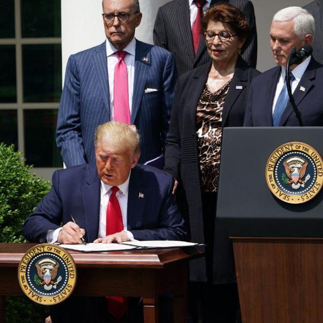 President Trump signs PPP bill