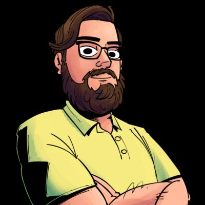 Bearded Cartoon Avatar