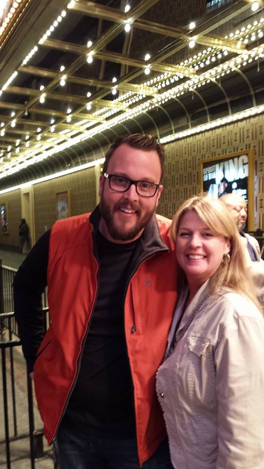 With  Food Network Chef Ben Vaughn! After they announced finalists