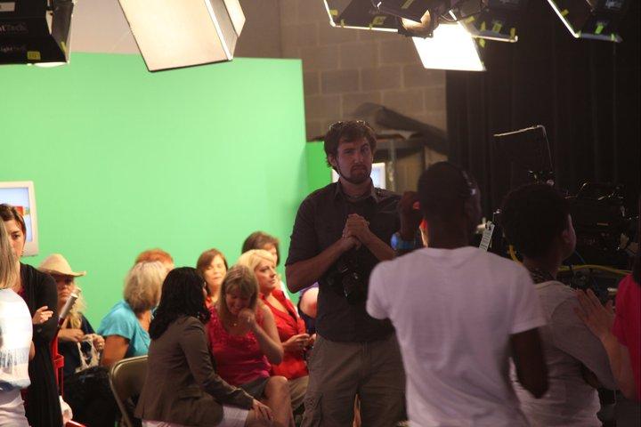 rwop having fun before live with paula deen in savannah tv