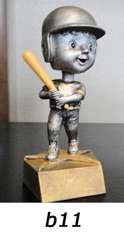 Baseball Bobblehead Trophy – b11