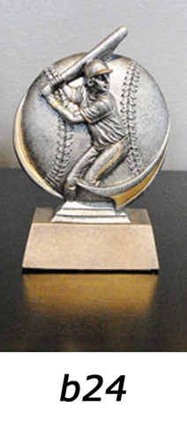 Baseball Action Trophy – b24