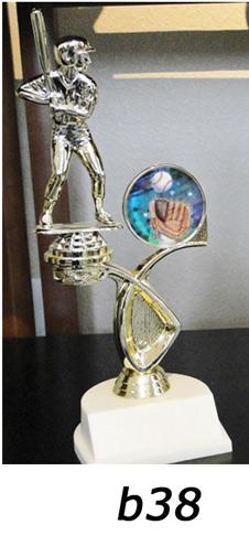 Baseball Action Trophy – b38