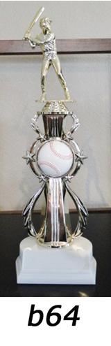 Baseball Action Trophy – b64