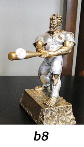 Baseball Action Trophy – b8