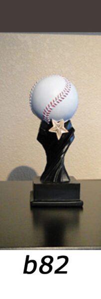 Baseball Action Trophy – b82