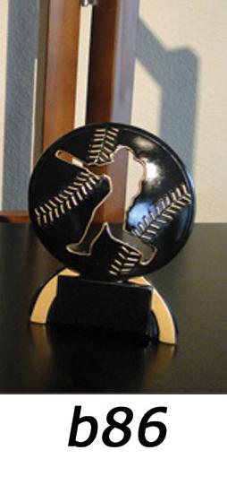 Baseball Action Trophy – b86