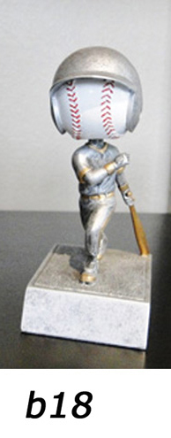 Baseball Bobblehead Trophy – b18