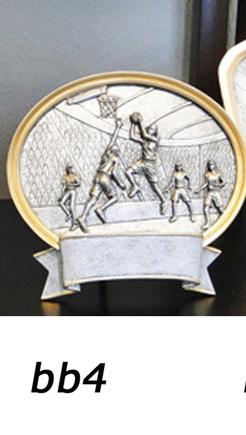 Basketball Trophy Plaque, Girls – bb4