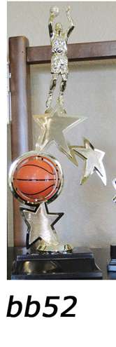 basketball action trophy