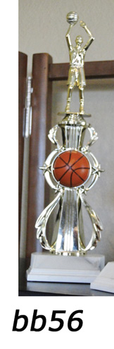 Basketball Action Trophy – bb56