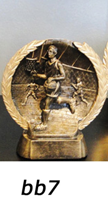 Basketball Trophy Plaque – bb7