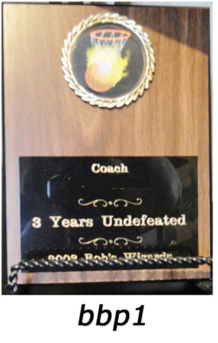 Basketball Plaques – bbp1