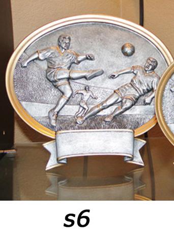 Soccer Plaque Trophy, Boys – s6