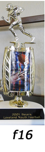 football action trophy