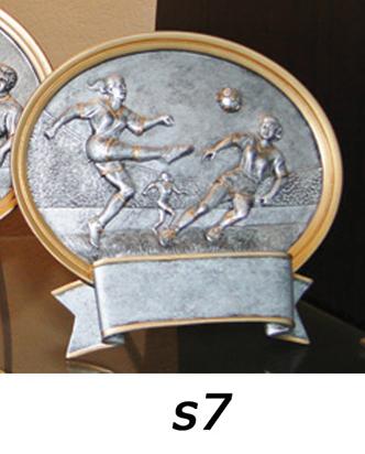 Soccer Plaque Trophy, Girls – s7