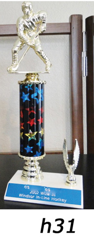 hockey action trophy