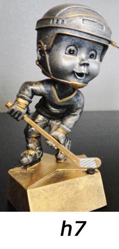 hockey bobblehead trophy